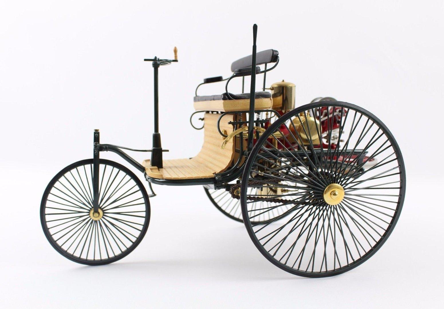 Benz Patent-Motorwagen Typ 1 Modell   Das erste Automobil (1885-1886 ...